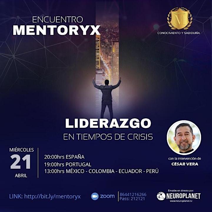 Imagen de Mentoryx - Liderazgo en tiempo de  crisis - Cesar Vera