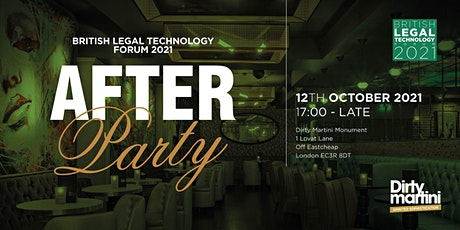 The British Legal Technology Forum 2021 Official After Party tickets