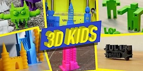 FabLabKids@home: Lerne 3D Modellieren mit TinkerCAD entradas