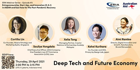 Deep Tech and the Future Economy tickets
