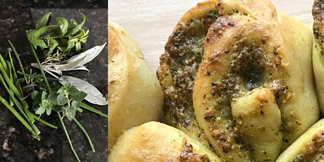 Savoury Tear and Share Bread Demonstration with Danielle Ellis via Zoom tickets