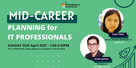 Mid-career Planning for IT Professionals tickets