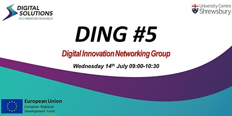 Digital Innovation Networking Group (DING) #5 tickets