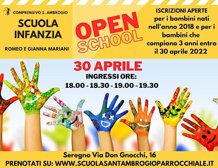 Immagine OPEN SCHOOL SCUOLA INFANZIA ROMEO E GIANNA MARIANI SEREGNO