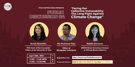 Facing Our Collective Vulnerability: The Long Fight Against Climate Crisis tickets