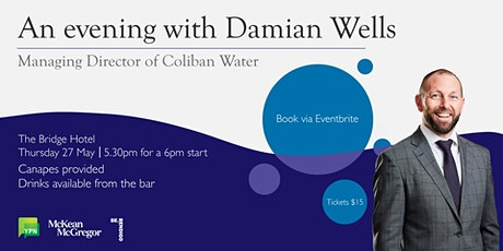 An evening with Damian Wells tickets