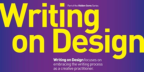 BCUType Talks | Hidden Gems #02 | BCU Class of 2021| Writing on Design tickets