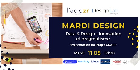 Mardi Design : Data & Design – Innovation et pragmatisme billets