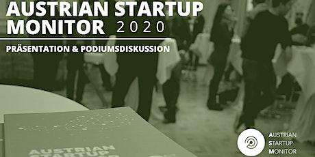 Austrian Startup Monitor Präsentation tickets