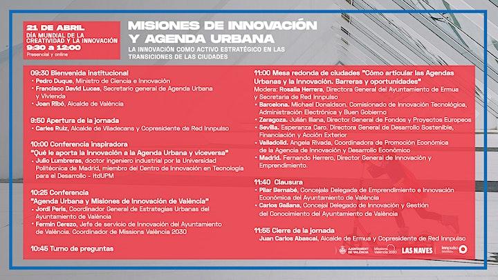 Imagen de Misiones de Innovación y Agenda Urbana