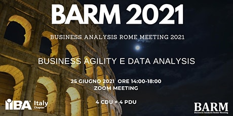 BARM 2021 - Save the Date biglietti