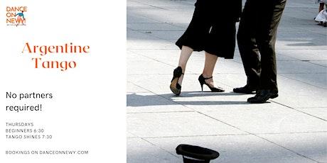 Dance Classes - Argentine Tango tickets
