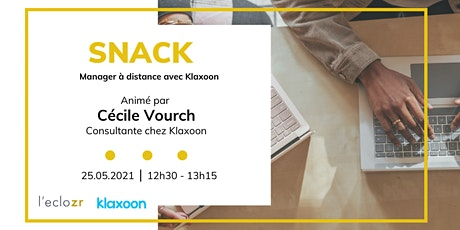 Snack : Manager à distance avec Klaxoon tickets