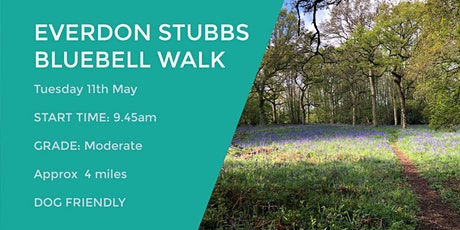 EVERDON BLUEBELL WALK | 4 MILES | MODERATE| NORTHANTS tickets