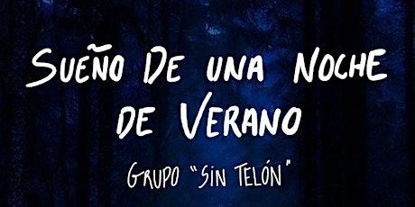 Teatro Sin Telón -  22 de abril entradas