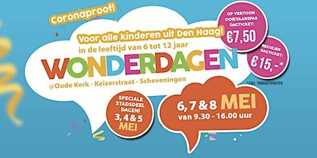 WonderDagen - 3, 4 , 5 mei - Gratis voor stadsdelen Laak, Centrum & Escamp. tickets