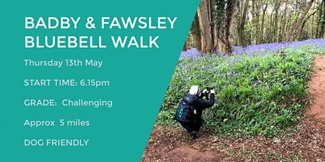 BADBY WOODS BLUEBELL WALK | 5 MILES | CHALLENGING | NORTHANTS tickets