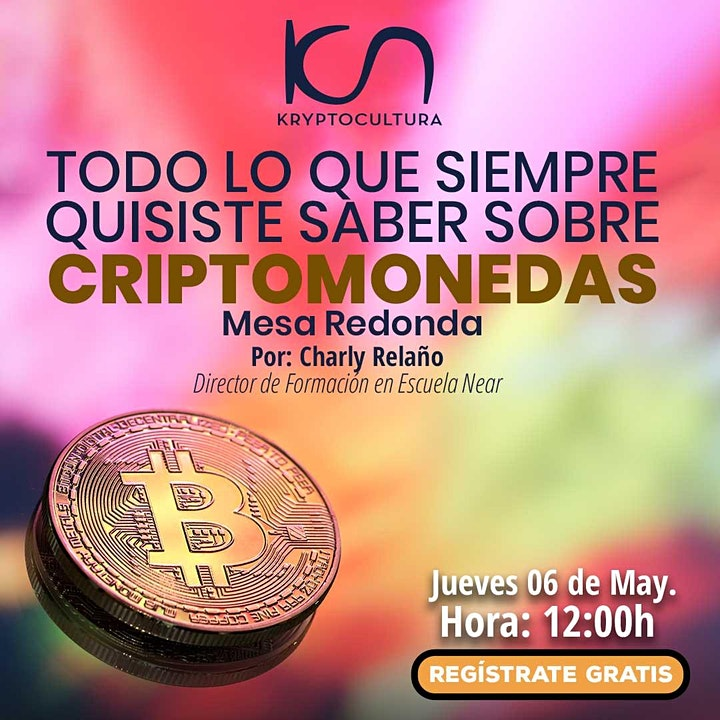 Imagen de KCN Kryptocultura 6May
