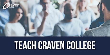 Teach Craven College tickets