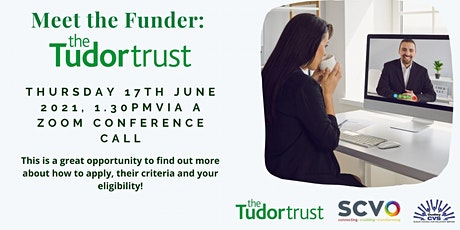 Meet The Funder: The Tudor Trust tickets