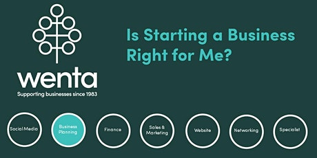 Is starting a business right for me?: Webinar tickets
