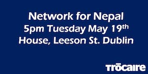 Network for Nepal at House, Leeson St. Dublin