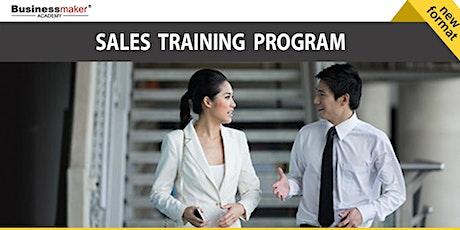 Live Webinar: Sales Training Program: Sales Probing, Negotiations & Closing tickets