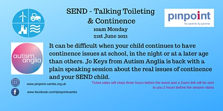 SEND - Talking Toileting and Continence tickets