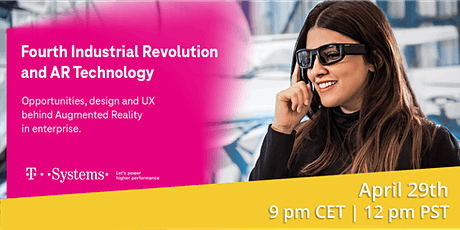 Fourth Industrial Revolution and AR Technology tickets