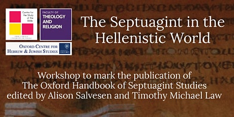 What Does the Septuagint mean for the Wider Hellenistic World tickets