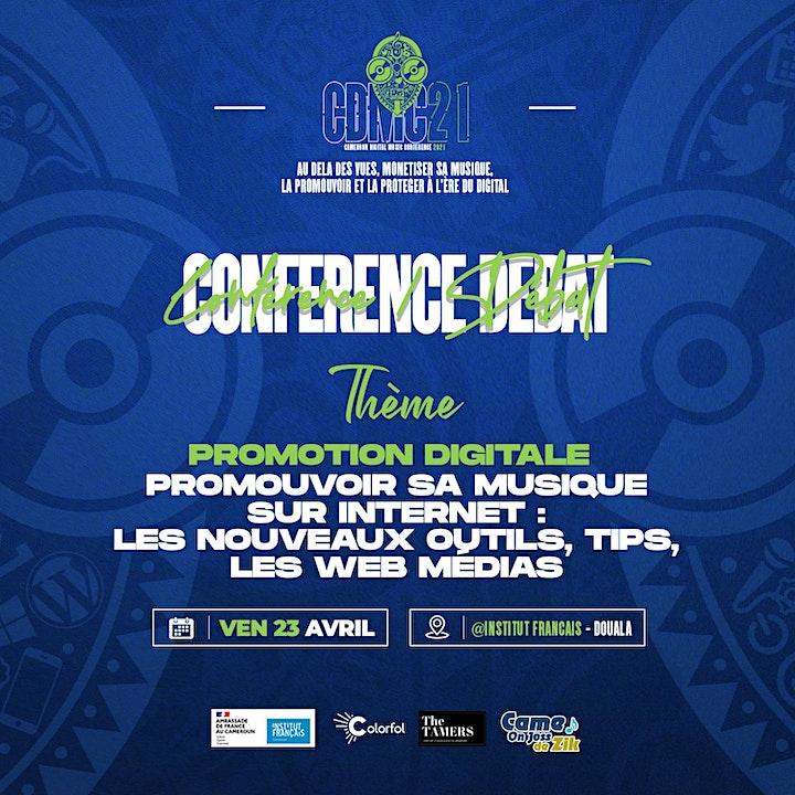 Image pour Conférence/Débat : Promouvoir sa musique sur internet