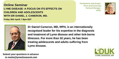 Lyme Disease: A Focus on its  Effects On Children and Adolescents tickets
