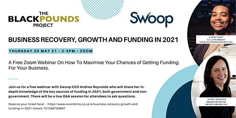 Business Recovery, Growth and Funding in 2021 tickets