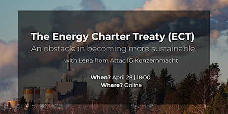 The Energy Charter Treaty - An obstacle in becoming more sustainable tickets