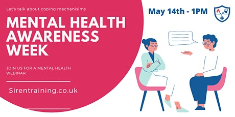 Mental Health Awareness Week | Coping Mechanisms tickets