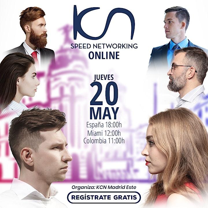 Imagen de KCN Madrid Este Speed Networking Online 20May