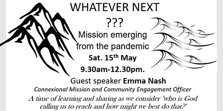 Whatever Next? Mission emerging from the pandemic tickets