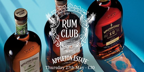 Appleton Rum Club at The Milk Thistle tickets