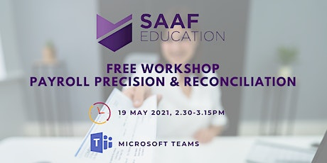 Free Workshop: Payroll Precision & Reconciliation tickets