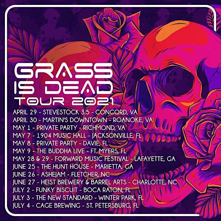 Grass Is Dead at Heist Barrel Arts image