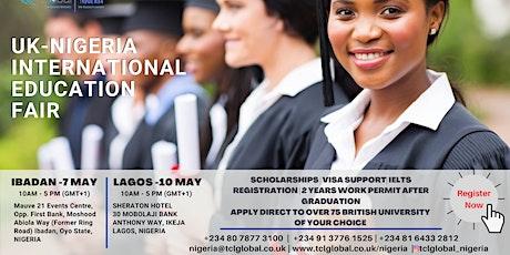 Education Fair in Nigeria on study abroad - LAGOS -2021 tickets