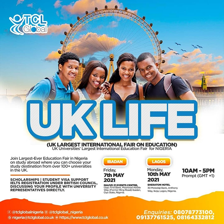 Education Fair in Nigeria on study abroad - LAGOS -2021 image