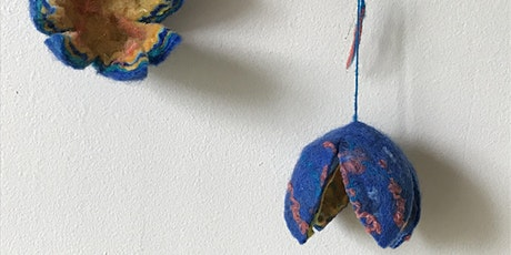 Flower Felting for Beginners with artist Tunde Toth: dlr LexIcon Gallery tickets