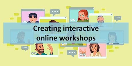 Creating interactive online workshops & meetings tickets