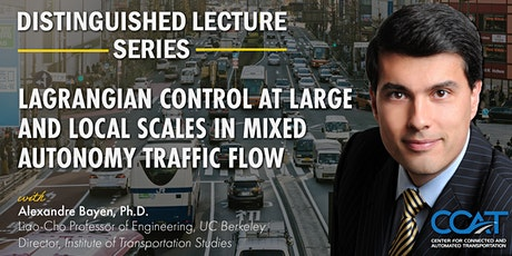CCAT Distinguished Lecture Series with Professor Alexandre Bayen tickets
