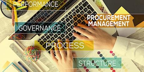 Strategic Procurement Management - Virtual Live Workshop tickets