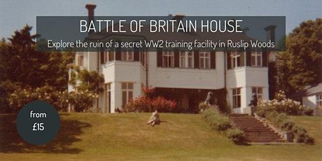 Exploring the Battle of Britain House in Ruislip tickets