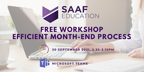 Free Workshop: Efficient Month-End Process tickets