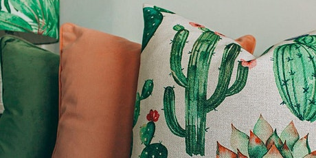 MAKE FRIENDS WITH A SEWING MACHINE - ZIPPED CUSHIONS tickets