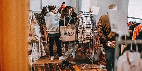 Spring Vintage Kilo Pop Up Store • Biel • Vinokilo billets